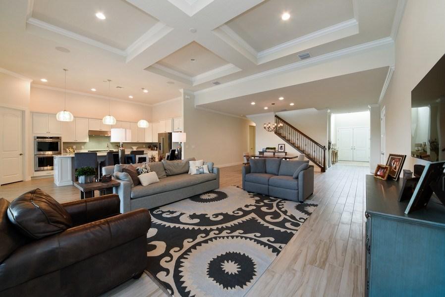 Real Estate Photography - 206 Alcove point lane, Jupiter, FL, 33478 - Living Room/Dining Room