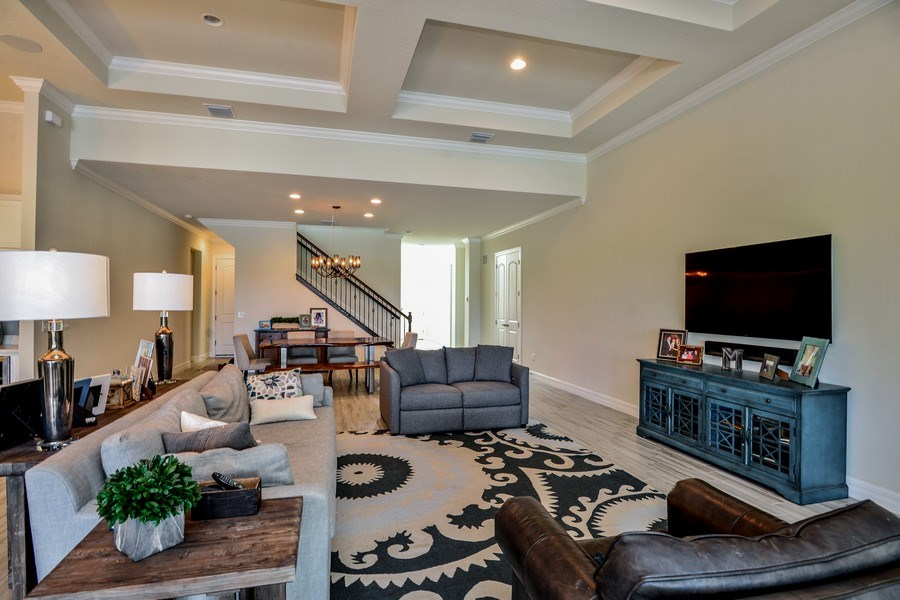 Real Estate Photography - 206 Alcove point lane, Jupiter, FL, 33478 - Family Room / Dining Room