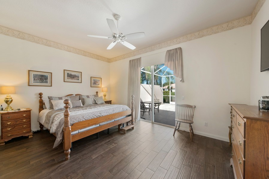 Real Estate Photography - 7729 Quida Drive, West Palm Beach, FL, 33411 - Master Bedroom
