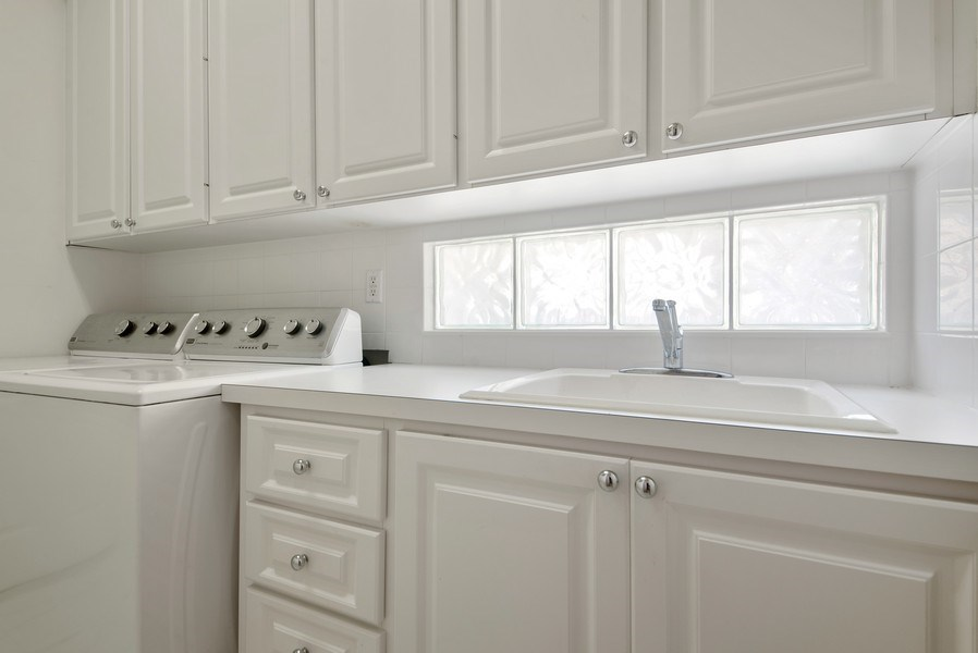 Real Estate Photography - 7729 Quida Drive, West Palm Beach, FL, 33411 - Laundry Room