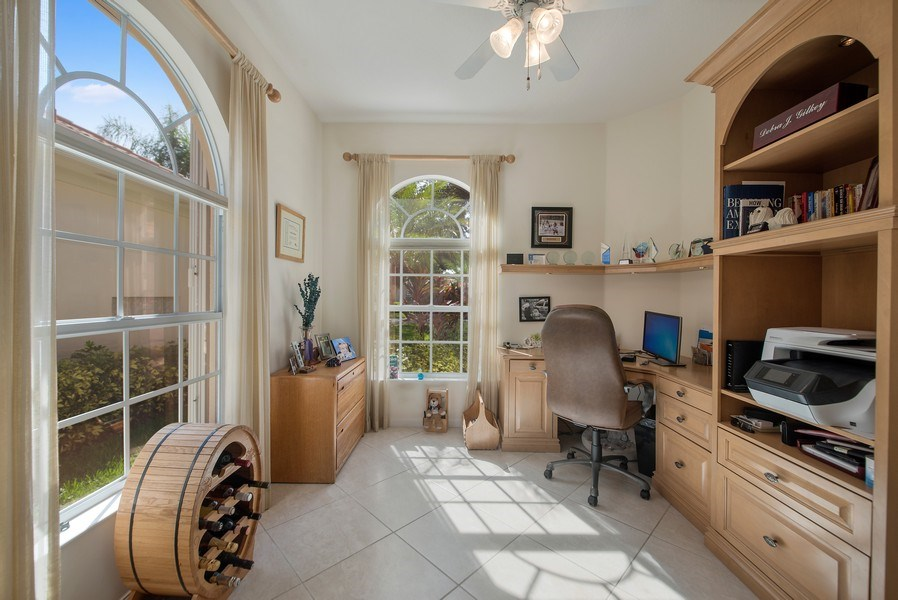 Real Estate Photography - 7729 Quida Drive, West Palm Beach, FL, 33411 - Office