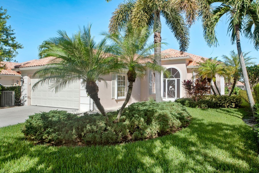 Real Estate Photography - 7729 Quida Drive, West Palm Beach, FL, 33411 - Front View