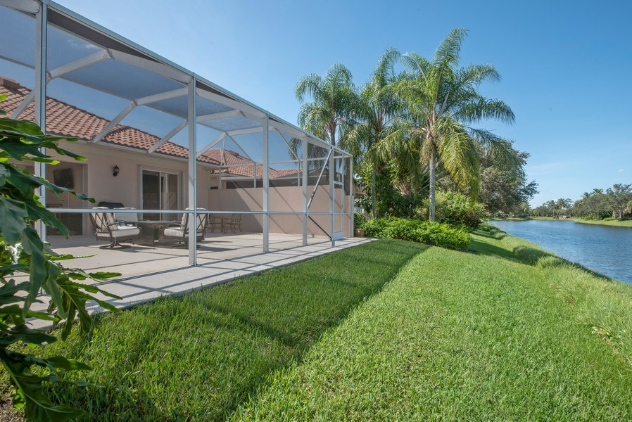 Real Estate Photography - 7729 Quida Drive, West Palm Beach, FL, 33411 - Rear View