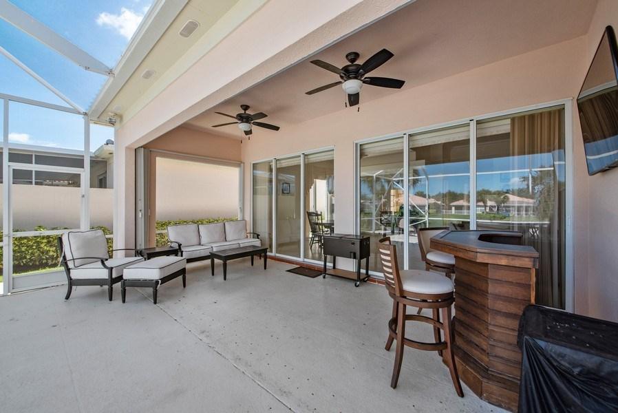 Real Estate Photography - 7729 Quida Drive, West Palm Beach, FL, 33411 - Patio