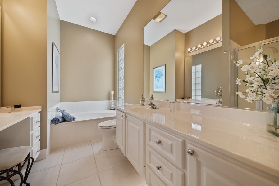 Real Estate Photography - 7706 Red River Rd, West Palm Beach, FL, 33411 - Master Bathroom