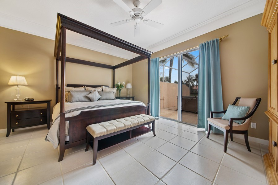 Real Estate Photography - 7706 Red River Rd, West Palm Beach, FL, 33411 - Master Bedroom