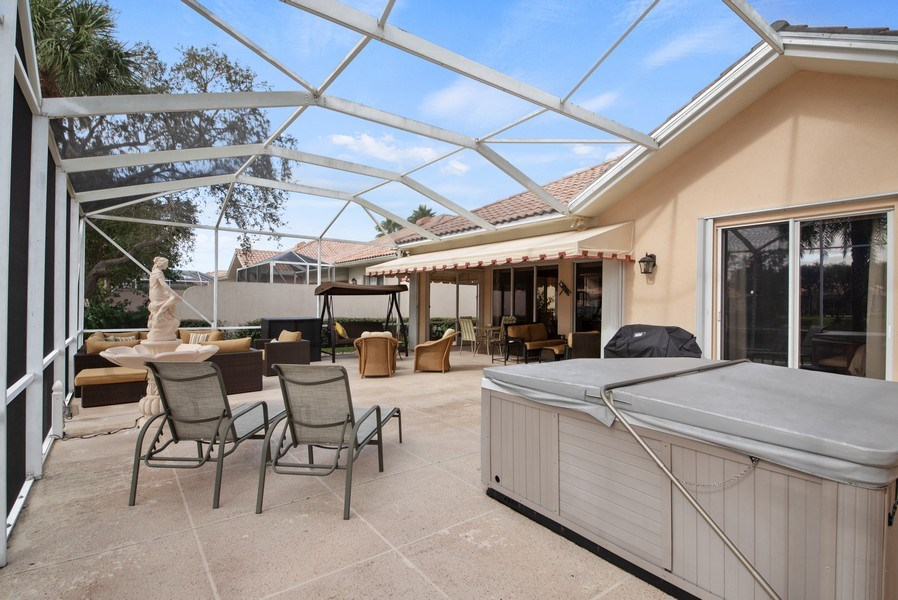 Real Estate Photography - 7706 Red River Rd, West Palm Beach, FL, 33411 - Patio