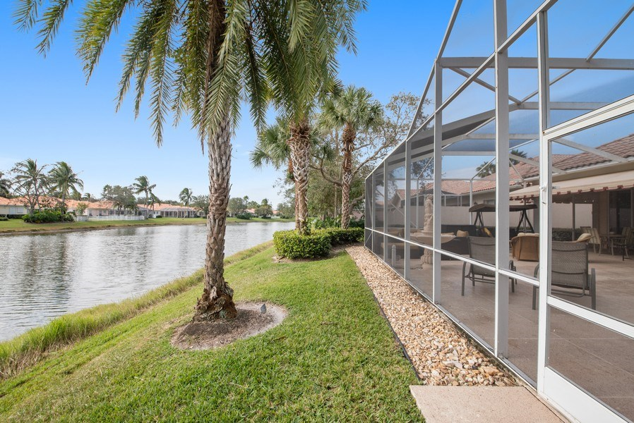 Real Estate Photography - 7706 Red River Rd, West Palm Beach, FL, 33411 - Lake View