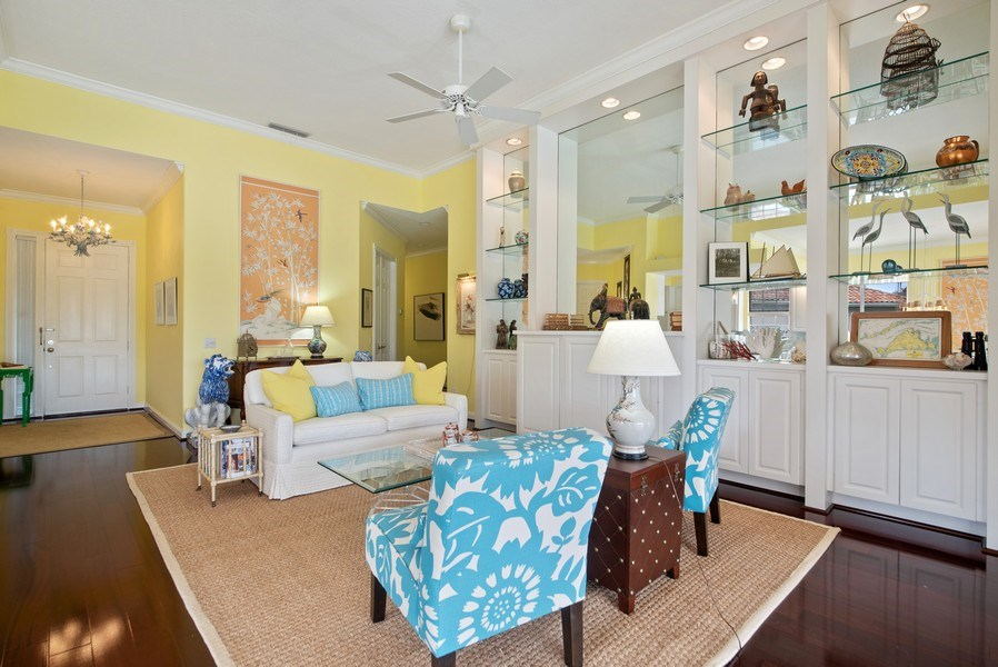 Real Estate Photography - 7586 Quida Drive, West Palm Beach, FL, 33411 - Foyer/Living Room