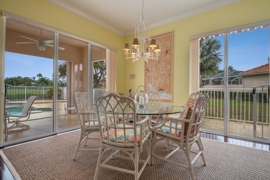 Real Estate Photography - 7586 Quida Drive, West Palm Beach, FL, 33411 - Dining Room