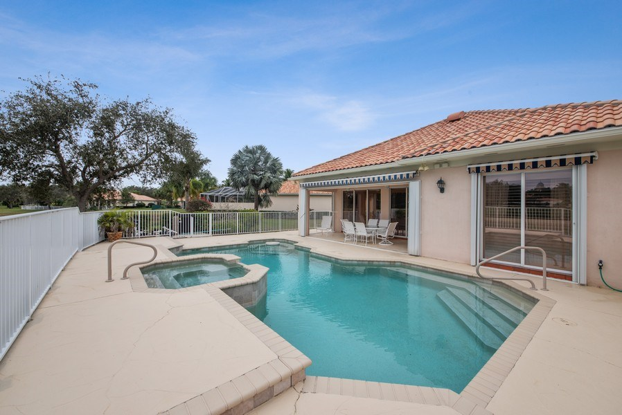 Real Estate Photography - 7586 Quida Drive, West Palm Beach, FL, 33411 - Pool