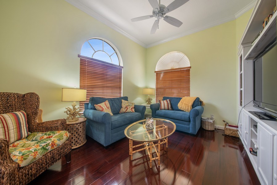 Real Estate Photography - 7586 Quida Drive, West Palm Beach, FL, 33411 - Family Room