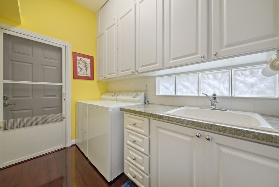 Real Estate Photography - 7586 Quida Drive, West Palm Beach, FL, 33411 - Laundry Room