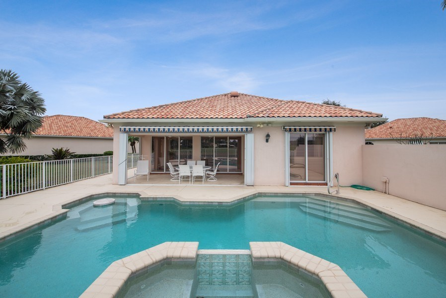 Real Estate Photography - 7586 Quida Drive, West Palm Beach, FL, 33411 - Rear View