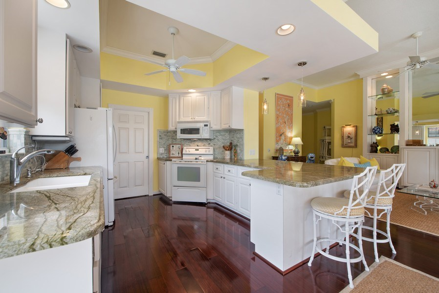 Real Estate Photography - 7586 Quida Drive, West Palm Beach, FL, 33411 - Kitchen / Living Room