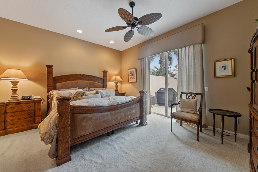 Real Estate Photography - 2683 Irma Lake Drive, West Palm Beach, FL, 33411 - Master Bedroom