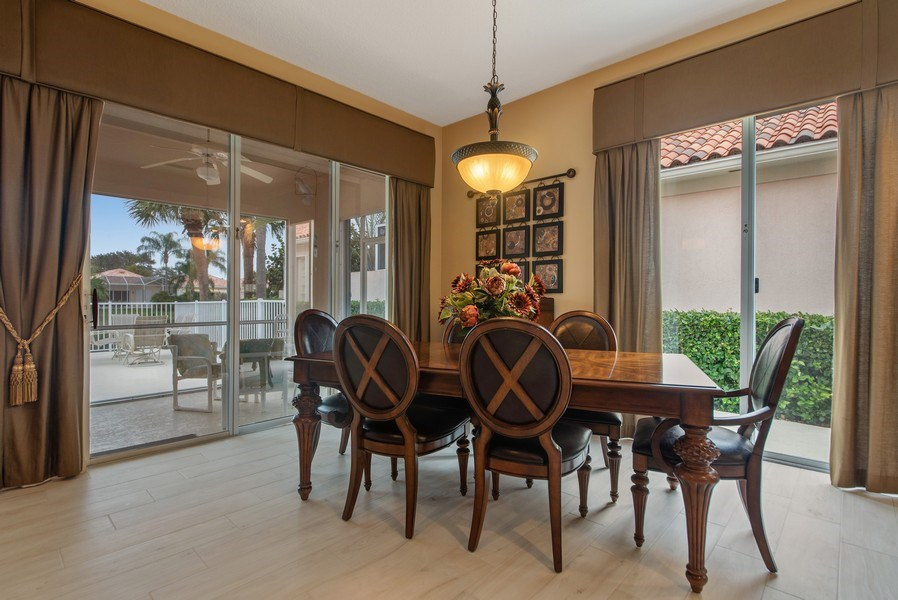 Real Estate Photography - 2683 Irma Lake Drive, West Palm Beach, FL, 33411 - Dining Room