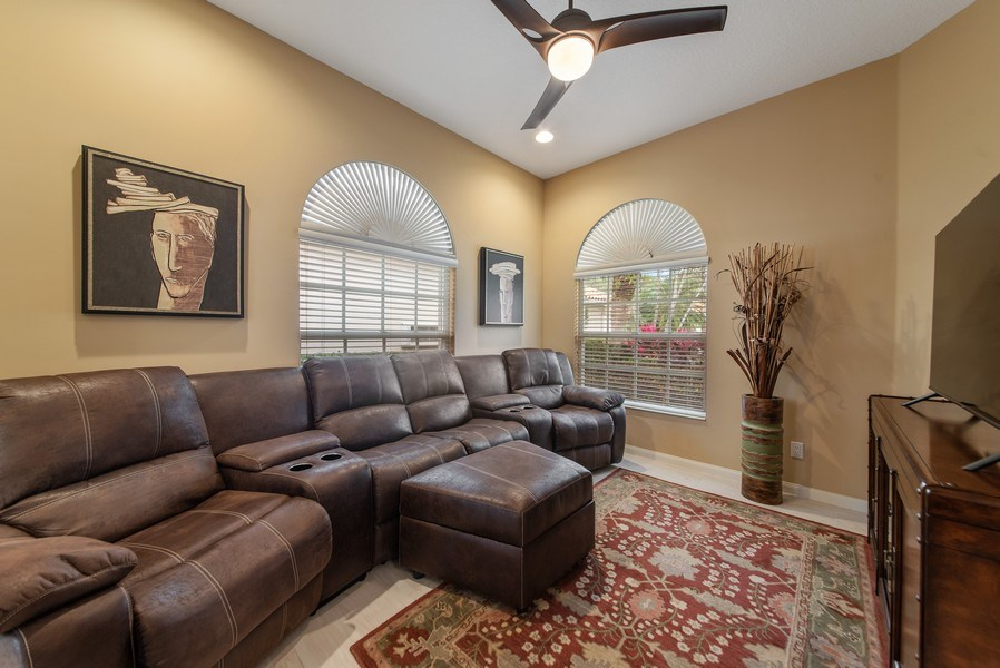 Real Estate Photography - 2683 Irma Lake Drive, West Palm Beach, FL, 33411 - Family Room