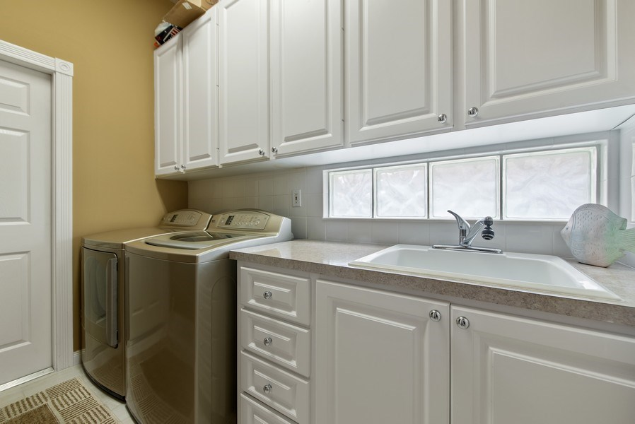 Real Estate Photography - 2683 Irma Lake Drive, West Palm Beach, FL, 33411 - Laundry Room