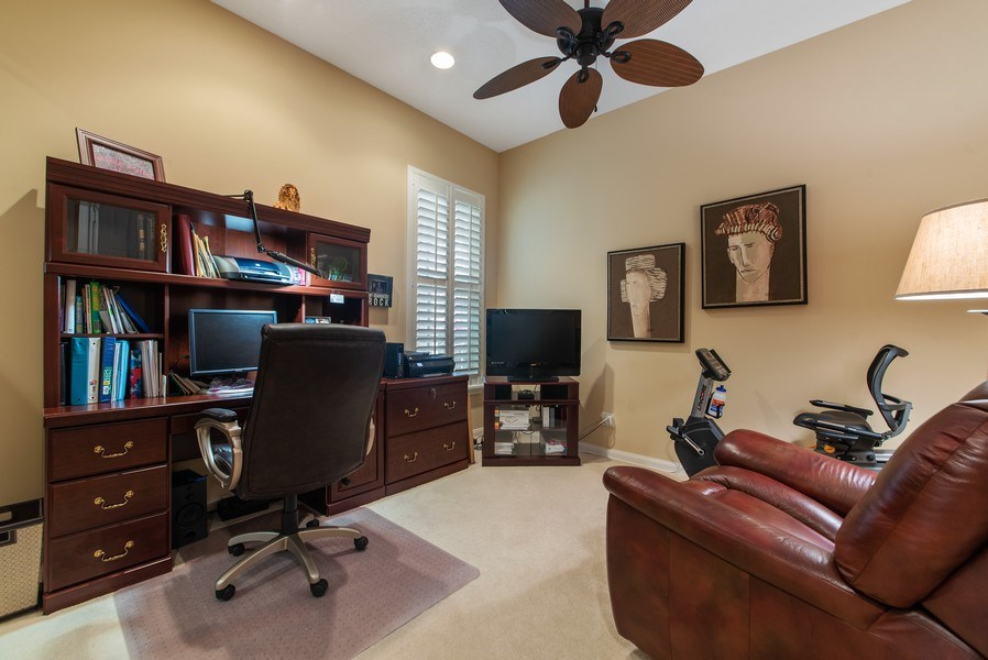 Real Estate Photography - 2683 Irma Lake Drive, West Palm Beach, FL, 33411 - Office