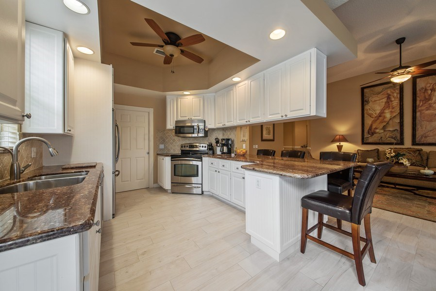 Real Estate Photography - 2683 Irma Lake Drive, West Palm Beach, FL, 33411 - Kitchen / Living Room
