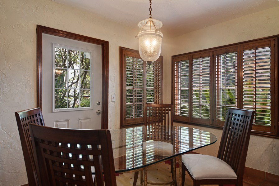 Real Estate Photography - 281 Flamingo Drive, West Palm Beach, FL, 33401 - Dining Room