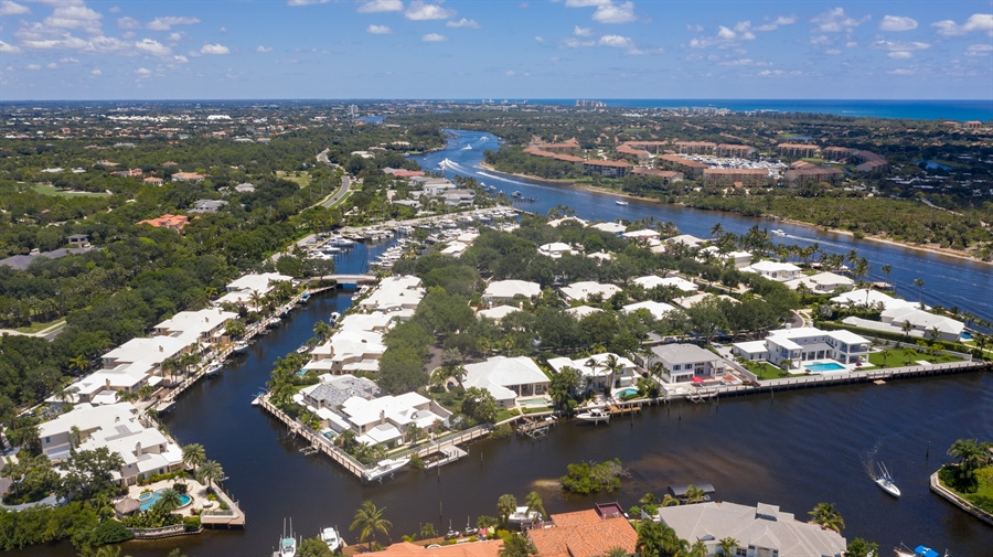Real Estate Photography - 14523 Cypress Island Circle, Palm Beach Gardens, FL, 33410 - Aerial View