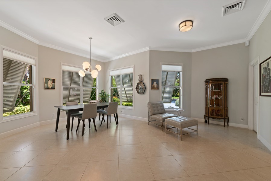 Real Estate Photography - 14523 Cypress Island Circle, Palm Beach Gardens, FL, 33410 - Dining Room
