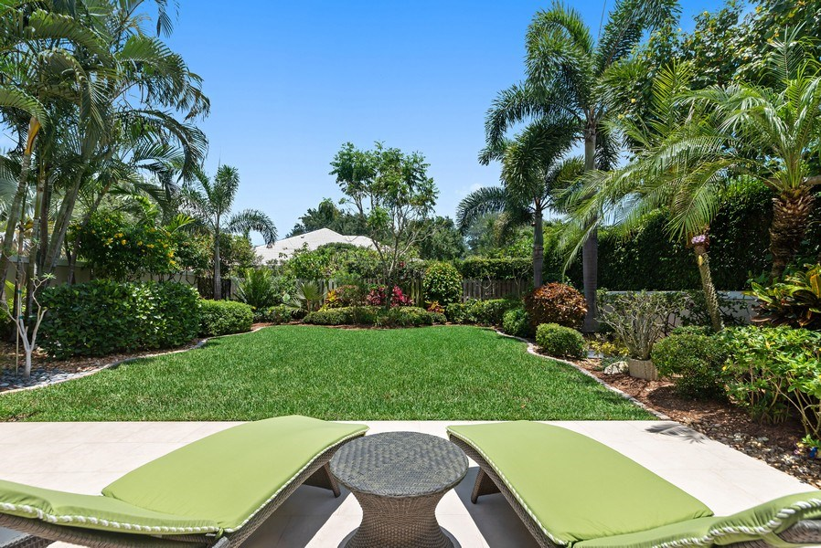 Real Estate Photography - 14523 Cypress Island Circle, Palm Beach Gardens, FL, 33410 - Back Yard