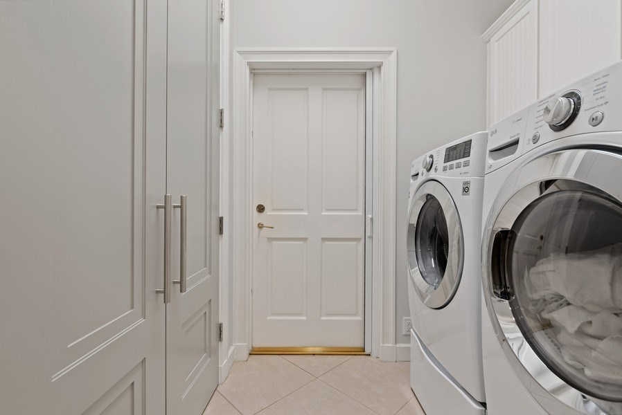 Real Estate Photography - 14523 Cypress Island Circle, Palm Beach Gardens, FL, 33410 - Laundry Room