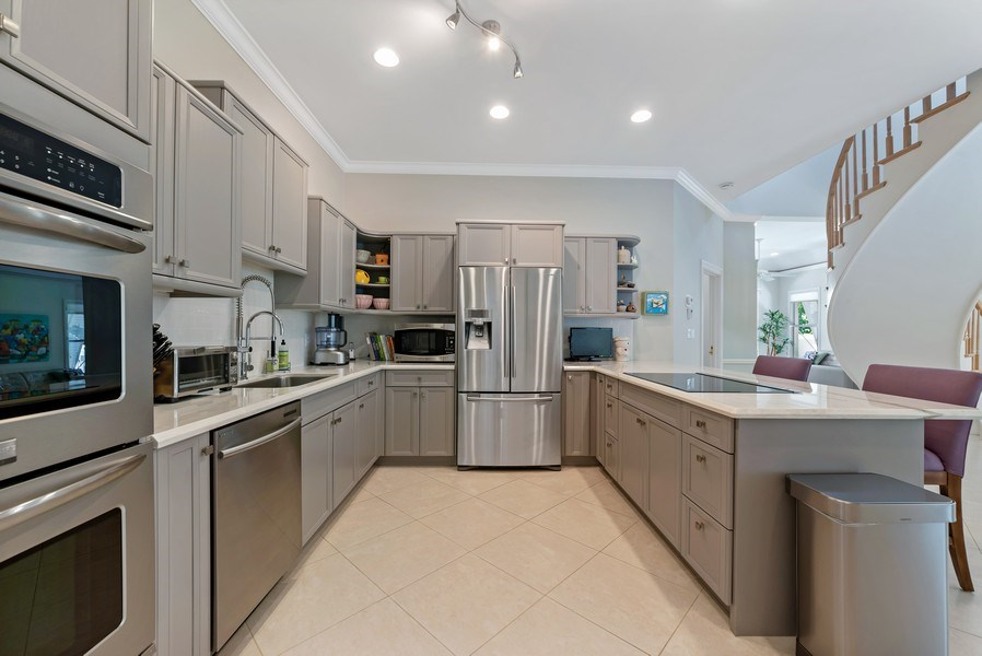 Real Estate Photography - 14523 Cypress Island Circle, Palm Beach Gardens, FL, 33410 - Kitchen