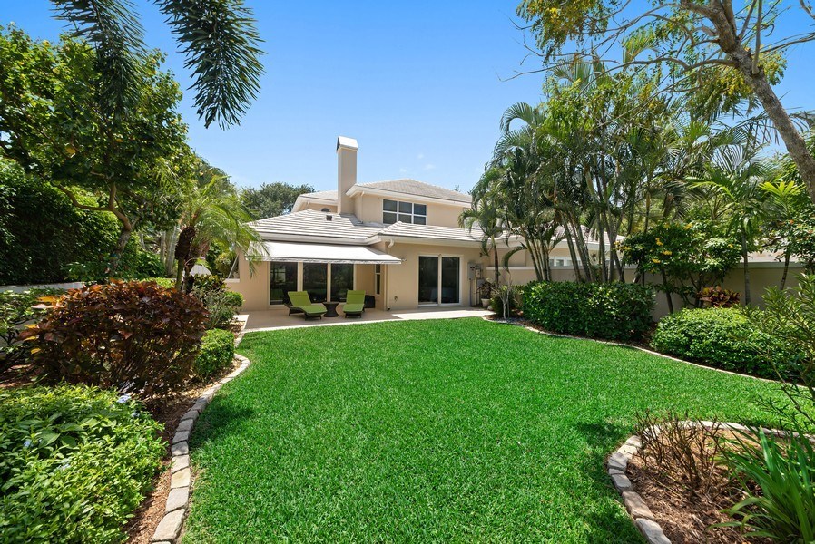 Real Estate Photography - 14523 Cypress Island Circle, Palm Beach Gardens, FL, 33410 - Rear View