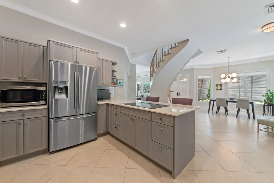 Real Estate Photography - 14523 Cypress Island Circle, Palm Beach Gardens, FL, 33410 - Kitchen / Dining Room