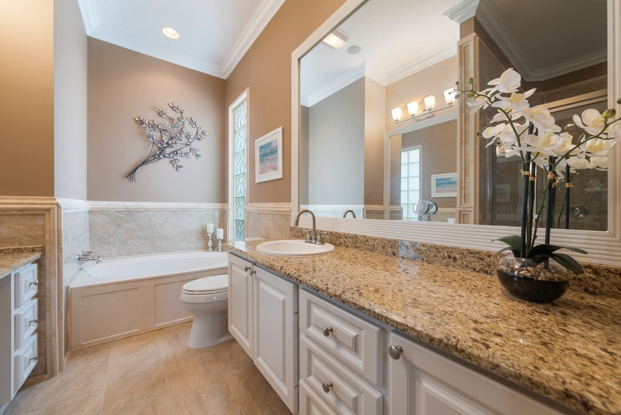Real Estate Photography - 2834 Irma Lake Drive, West Palm Beach, FL, 33411 - Master Bathroom
