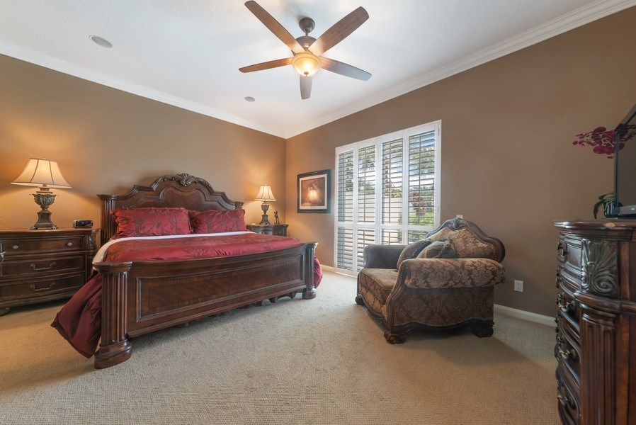 Real Estate Photography - 2834 Irma Lake Drive, West Palm Beach, FL, 33411 - Master Bedroom