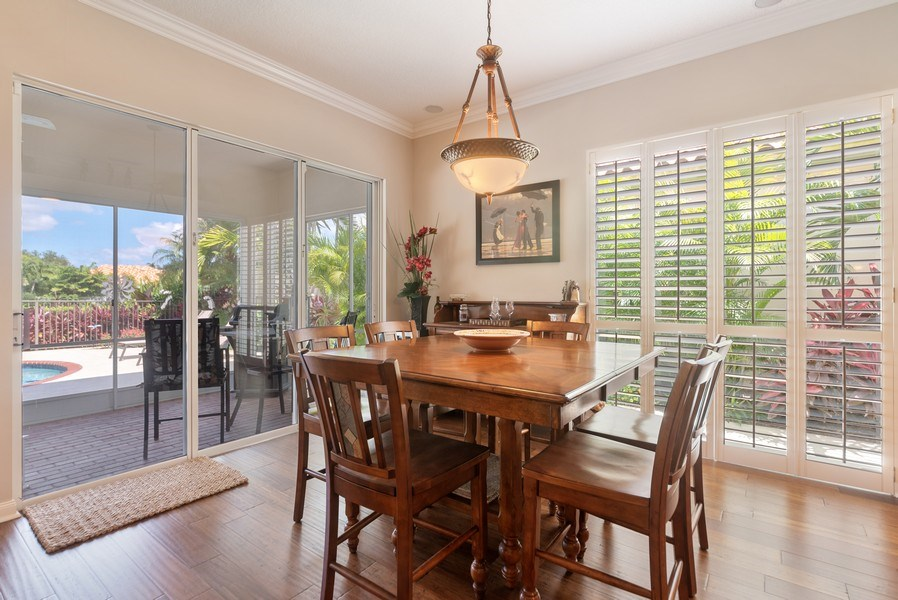 Real Estate Photography - 2834 Irma Lake Drive, West Palm Beach, FL, 33411 - Dining Room