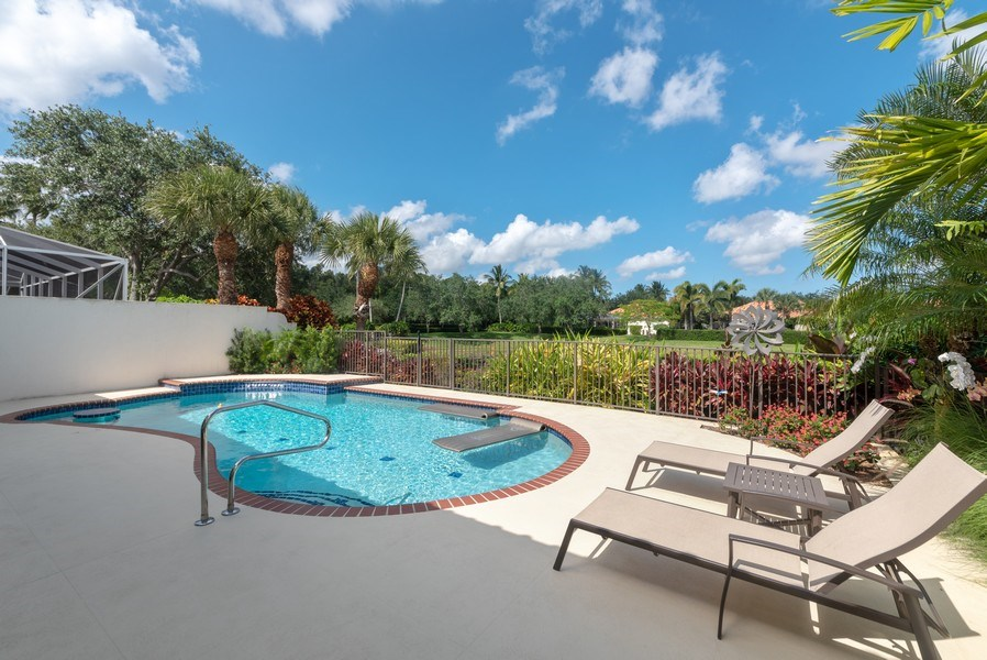 Real Estate Photography - 2834 Irma Lake Drive, West Palm Beach, FL, 33411 - Pool