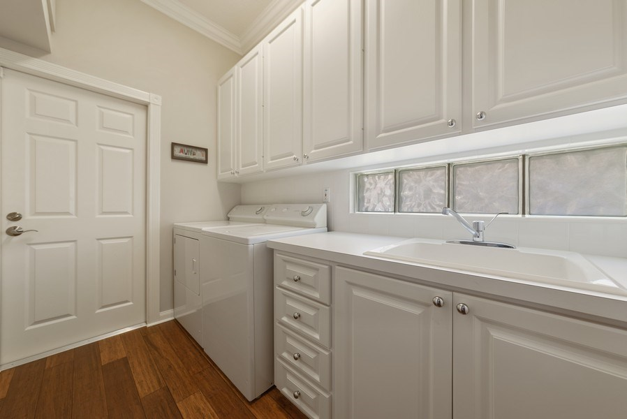 Real Estate Photography - 2834 Irma Lake Drive, West Palm Beach, FL, 33411 - Laundry Room