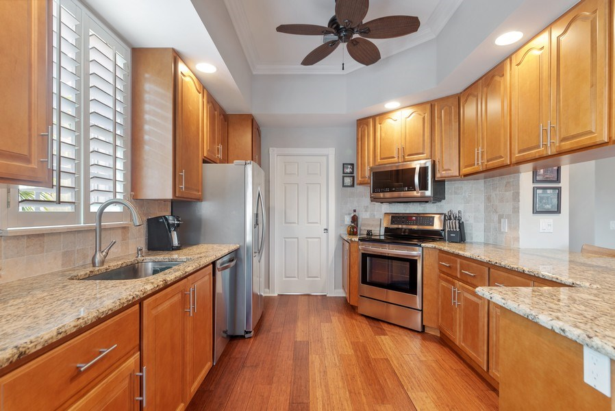 Real Estate Photography - 2834 Irma Lake Drive, West Palm Beach, FL, 33411 - Kitchen