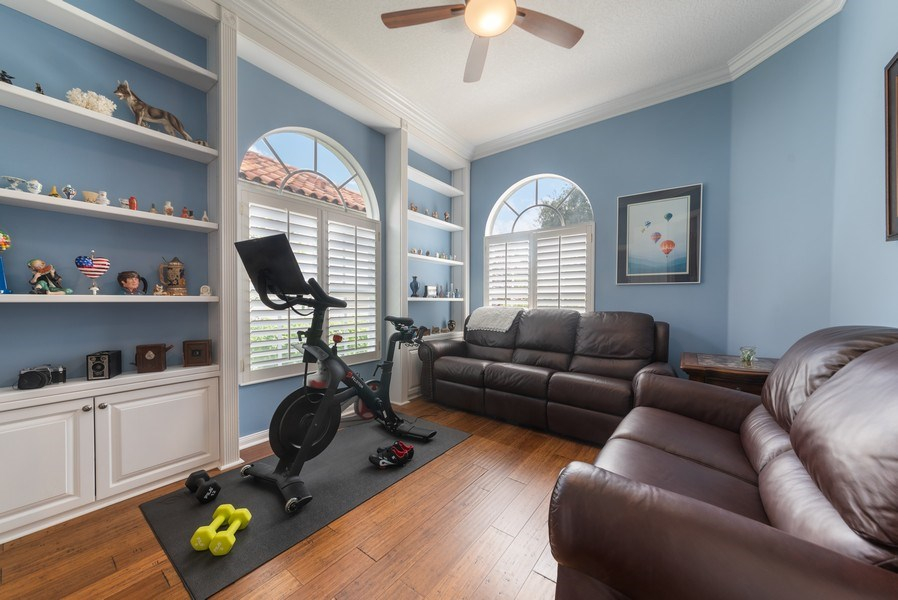 Real Estate Photography - 2834 Irma Lake Drive, West Palm Beach, FL, 33411 - Den