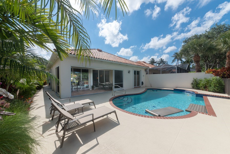 Real Estate Photography - 2834 Irma Lake Drive, West Palm Beach, FL, 33411 - Rear View