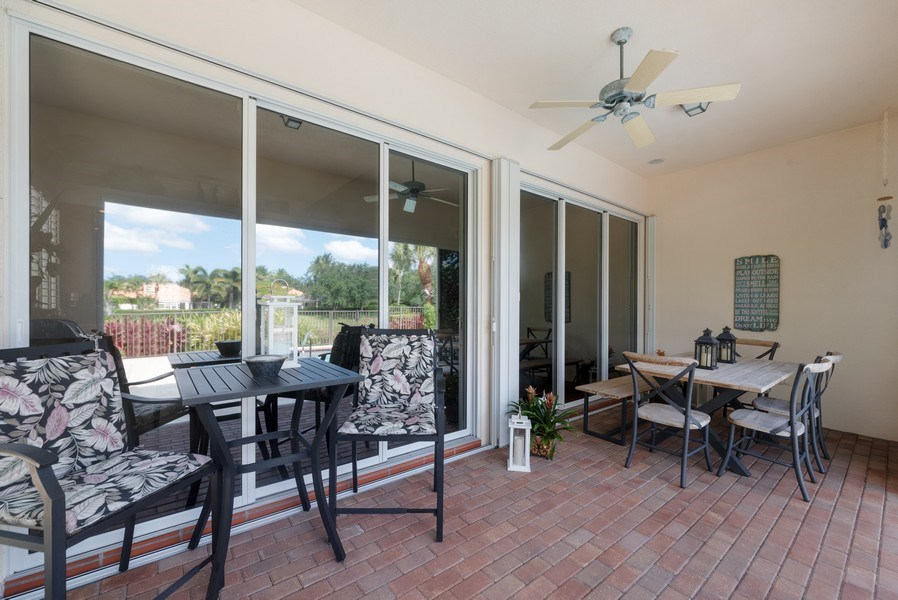 Real Estate Photography - 2834 Irma Lake Drive, West Palm Beach, FL, 33411 - Patio