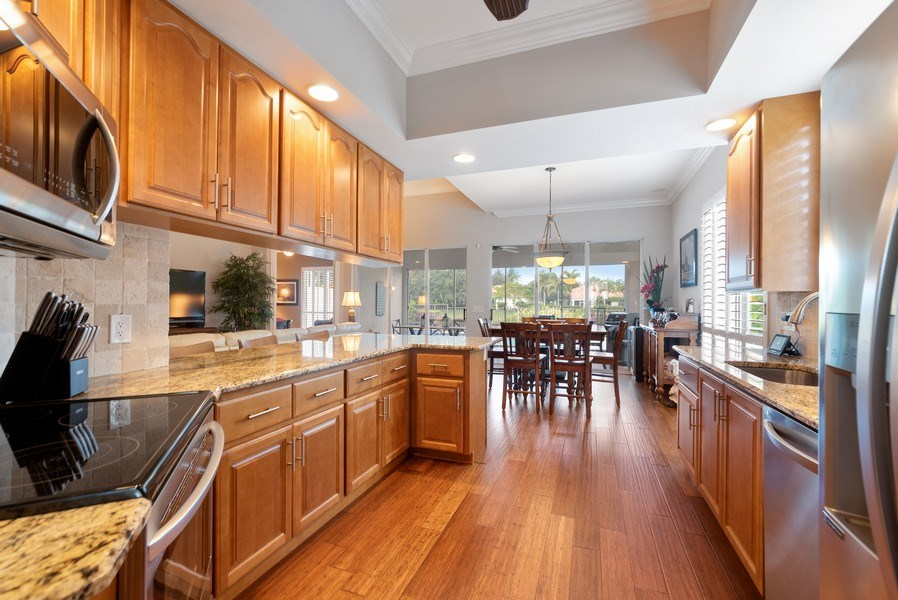 Real Estate Photography - 2834 Irma Lake Drive, West Palm Beach, FL, 33411 - Kitchen / Dining Room