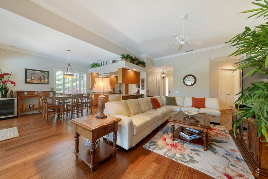 Real Estate Photography - 2834 Irma Lake Drive, West Palm Beach, FL, 33411 - Living Room / Dining Room