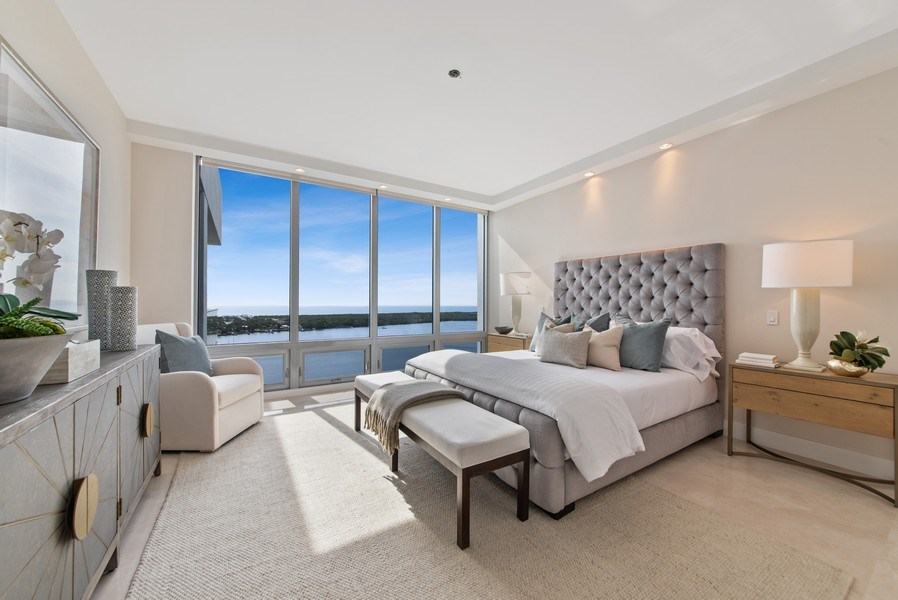 Real Estate Photography - 2102 Water Club Way, North Palm Beach, FL, 33408 - Master Bedroom