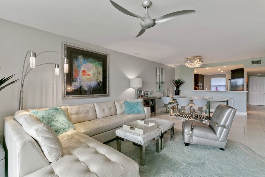 Real Estate Photography - 356 Golfview rd, unit 109, North Palm Beach, FL, 33408 - Living Room