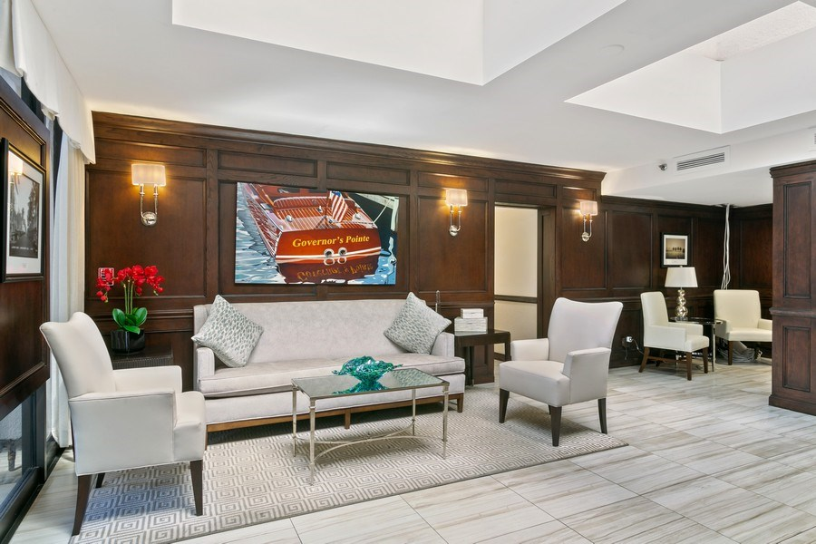 Real Estate Photography - 356 Golfview rd, unit 109, North Palm Beach, FL, 33408 - Lobby