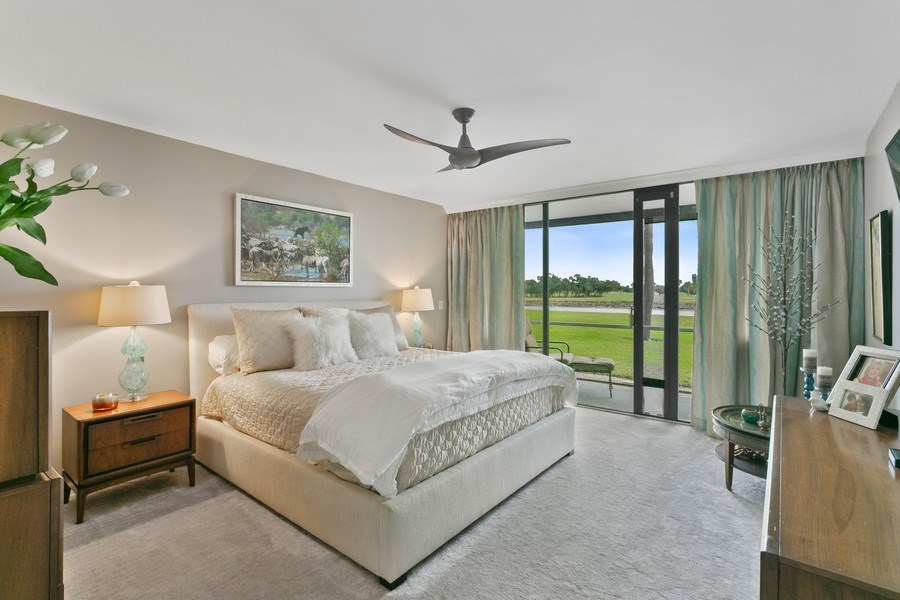 Real Estate Photography - 356 Golfview rd, unit 109, North Palm Beach, FL, 33408 - Master Bedroom