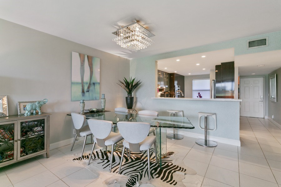 Real Estate Photography - 356 Golfview rd, unit 109, North Palm Beach, FL, 33408 - Dining Room