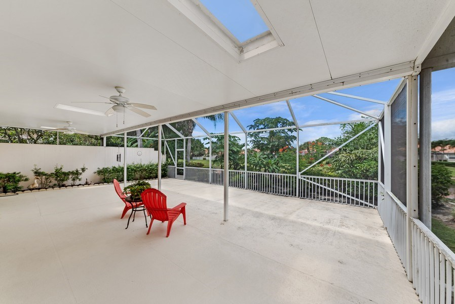 Real Estate Photography - 2733 Kittbuck Way, 403, West Palm Beach, FL, 33411 - Patio